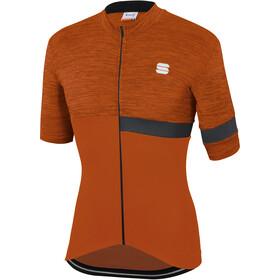 Sportful Giara Maillot de cyclisme Homme, sienna